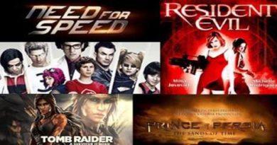 Najbolji Filmovi pravljeni prema Video Igrama