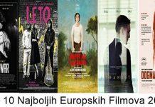 Top 10 Najboljih europskih filmova 2018